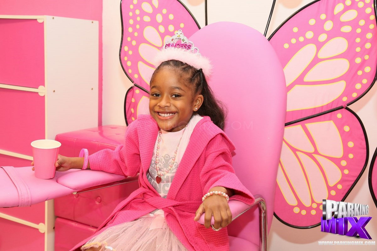 Photo of Princess Zaniyah's Spa Birthday Party